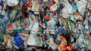 Eigentlich ist Plastik-Abfall zu schade für den Ghüdersack