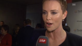 Hollywoodstar Charlize Theron: «Ich bin ein Softie»