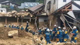 Mehr als 100 Tote bei Regen und Überschwemmungen in Japan