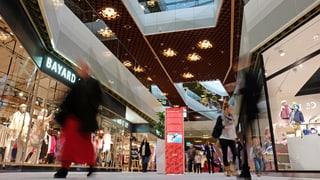 Mall of Switzerland: Weniger Kunden als angepeilt