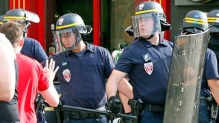 Randale an der Euro: Hat die Polizei zu spät reagiert?