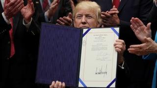 Donald Trump, der Dekrete-Präsident?