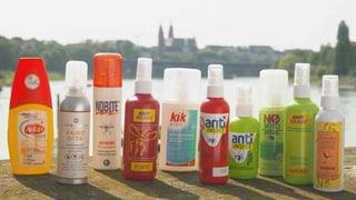 Antimücken-Sprays im Test: Nur 3 von 10 schützen gut