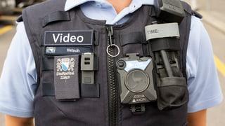 Streit um Bodycams für Polizisten