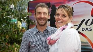 Gian Simmen im Glück: Der Snowboarder ist Papa geworden