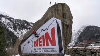 Gotthardtunnel: Gegner misstrauen dem Bundesrat