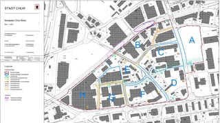 Cuira ha publitgà plan d'areal per il quartier da Cuira-vest