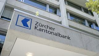 Die Zürcher Kantonalbank legt beim Gewinn drei Prozent zu