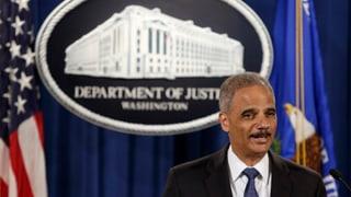 US-Justizminister Eric Holder tritt zurück