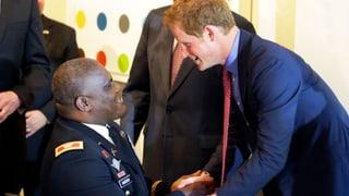 Prinz Harry auf US-Rehabilitationstour
