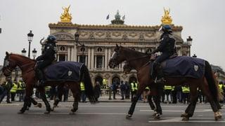 «Gelbwesten»-Protest mit weniger Zulauf (Artikel enthält Video)
