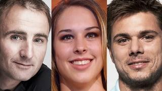 Die nominierten Sportler für den/die «SchweizerIn des Jahres»