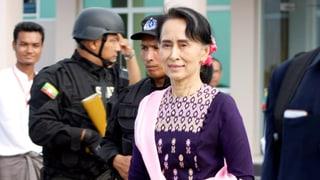 Aung San Suu Kyi schwieg lange zum Konflikt mit den Rohingyas. Anfangs November besuchte sie erstmals die Unruhe-Region Rakhine
