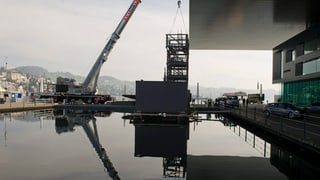 Reparaturen am Dach des KKL Luzern sind günstiger als erwartet
