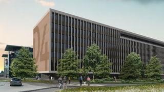 Suva baut Geschäftshaus für 60 Millionen im D4 Business Center