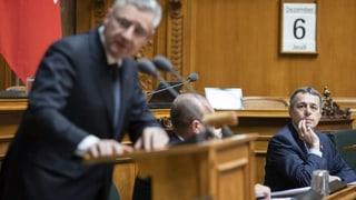 Bundesrat muss Kritik einstecken