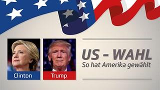 Bei diesen Wählern hat Trump gepunktet