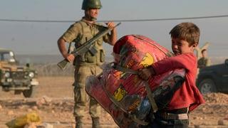 Flüchtlingsstrom aus Syrien reisst nicht ab