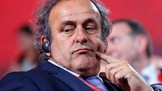 Platini: «Ich bin der Beste, um den Weltfussball zu führen»