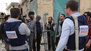 Westliche Reporter als Zielscheibe in Syrien
