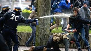 Proteste und Blockaden in ganz Frankreich