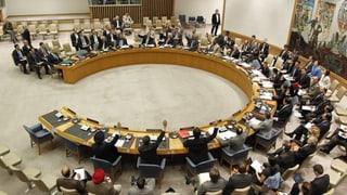 SVP greift Kandidatur für UNO-Sicherheitsratssitz an