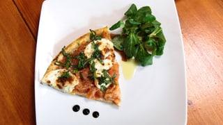 Tomaten-Mozzarella-Tarte tatin