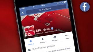 SRF News auf Facebook abonnieren