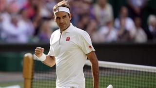 Federer zwingt Nadal in die Knie – und steht im Wimbledon-Final