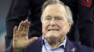 Vor drei Tagen wurde George H.W. Bush notfallmässig ins Spital verlegt