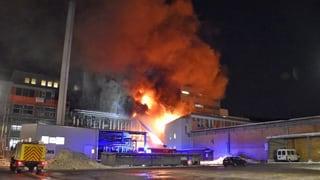 Incendi tar la EMS-Chemie