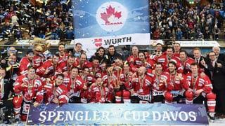 Il Team Canada gudogna per la 14avla giada la Cuppa Spengler