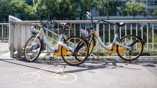 O-Bikes überrollen Zürich und Luzern – Bern blockt ab