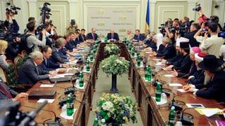 «Runder Tisch» in der Ukraine vertagt