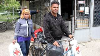 Schweizer Hilfsgüter erreichen Bulgarien (Artikel enthält Bildergalerie)