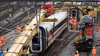 Bahnverkehr normalisiert sich nur langsam