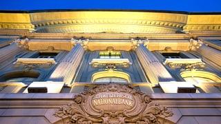 SNB setzt weiter auf Negativzinsen