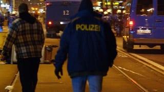 Polizei verhaftet sechs mutmassliche Gewalttäter