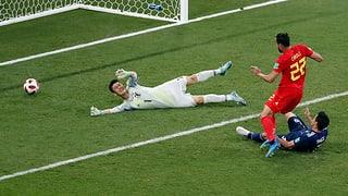 Belgiens Last-Minute-Treffer schockt Japan