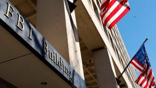 Geld für Ermittlungen des FBI wird knapp