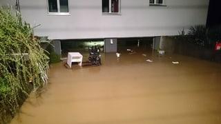 Svizra Centrala: Inundaziuns suenter plievgia permanenta
