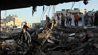 Gaza-Konflikt geht unvermindert weiter