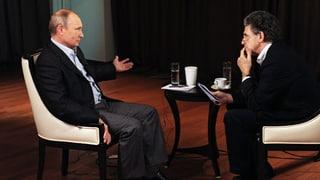 Putin verwirrt mit Aussagen im Fernsehgespräch