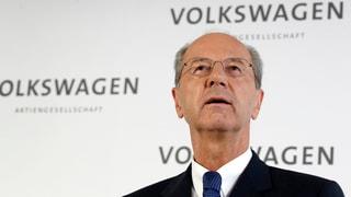 Aufräumarbeiten bei Volkswagen