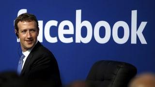 Facebook braucht «einige Jahre» für Problembehebung