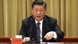 Xi droht Taiwan mit gewaltsamer «Wiedervereinigung»