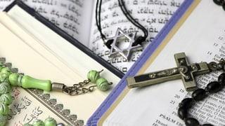 Drei Religionen und wie Eltern sie ihren Kindern vermitteln