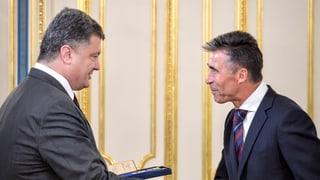 Nato will der Ukraine beistehen
