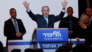 Netanjahus Likud gewinnt Parlamentswahlen
