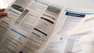 Leicht mehr Arbeitslose in der Zentralschweiz